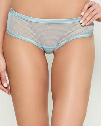 La Perla Shorty Sheer Lace Hipster Panty