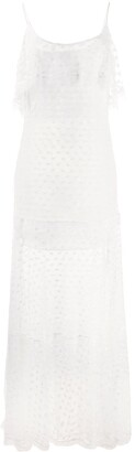 Just Cavalli Lace Trimmed Dress