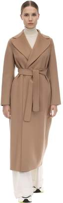 Max Mara 'S POLDO BELTED VIRGIN WOOL COAT