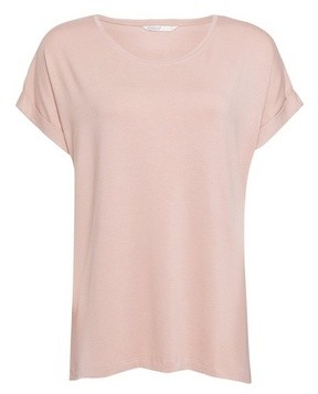 Dorothy Perkins Womens Only Lilac Roll Sleeve T