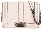 Rebecca Minkoff Love Small Chevron Quilted Crossbody Bag