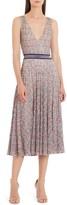 Missoni Sleeveless Faux Wrap Knit Dress