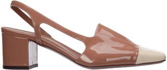 L'Autre Chose Block Heel Slingback Shoes