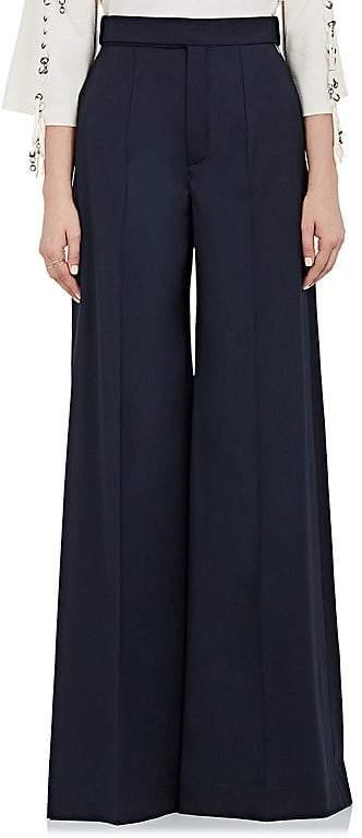 Chloé Women's Wool Wide-Leg Pants