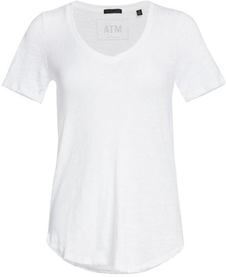 ATM Anthony Thomas Melillo Cotton Slub Jersey Tee