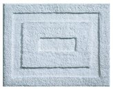 InterDesign Microfiber Spa Bathroom Accent Rug, 21 x 17, Water