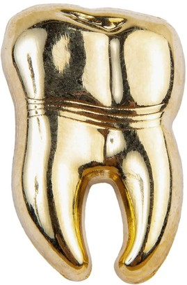 Make Heads Turn Golden Tooth Pin