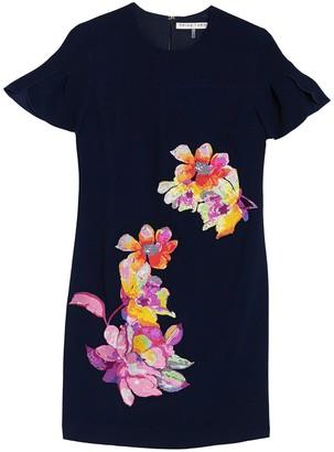 Trina Turk Jacinta Cap Sleeve Embroidered Dress