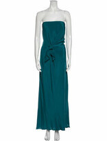 Thumbnail for your product : Issa Strapless Long Dress Blue