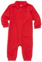 Ralph Lauren Baby's Solid Interlock Coverall