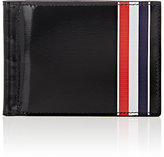 Thom Browne Men's Striped Money Clip Billfold-BLACK