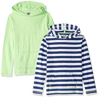 Spotted Zebra 2-Pack Hooded Long-Sleeve T-Shirts2T