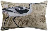 B. Smith Park Beach Bird Throw Pillow
