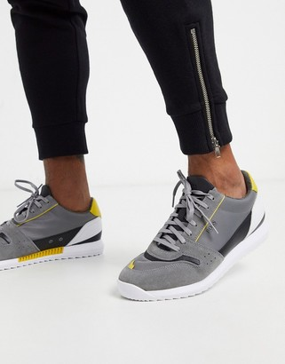 HUGO BOSS Sonic sneakers in gray