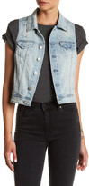 Tractr Jeans Fitted Denim Vest