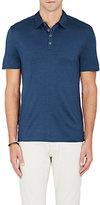 John Varvatos Men's Hampton Silk-Cotton Polo Shirt