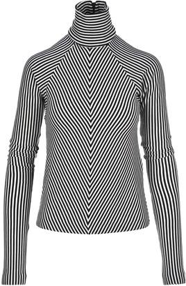 Haider Ackermann Striped Turtleneck Sweater