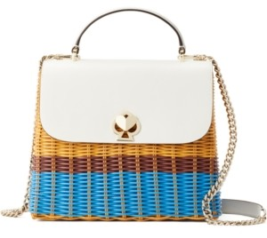 Kate Spade Romy Wicker Top Handle Satchel