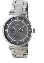 Simplify Stainless Bracelet Watch with Gray Dia
