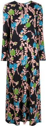 La DoubleJ Long Floral Dress