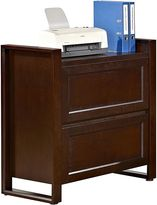 Huali Filing Cabinets & Storage Broadway Walnut 2 Drawer Filing Cabinet