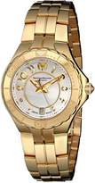 Technomarine Women's 714003 Sea Pearl Analog Display Swiss Quartz Gold Watch