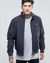Fred Perry Harrington Jacket In Navy