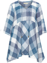 Isolde Roth Plus Size Checked tunic