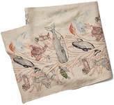 Coral & Tusk Coral Forest Linen Table Runner