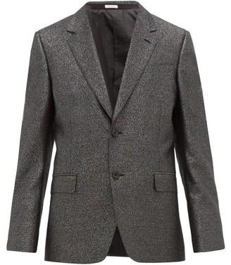 Alexander McQueen Single-breasted Wool-blend Suit Jacket - Black