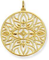 Thomas Sabo Yellow Gold Diamond Ornament Pendant