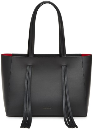 Mansur Gavriel Black Fringe Bag - Flamma