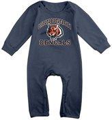 DJTB32rty Kids Infants 100% Cotton Long Sleeve Onesies Romper Suit Cinncinnati Bengals Babysuit