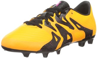 adidas X 15.3 Fg/ag Junior Fuballschuhe Unisex Kids Footbal Shoes Orange (Solar Gold/schwarz/shock Pink) 4.5 UK (37 1/3 EU)