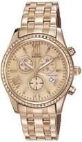 Citizen 40mm Chronograph Bracelet Watch, Pink/Gold