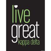 Dormify Kappa Delta Live Great Print