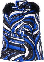 Emilio Pucci swirled padded jacket