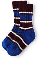 Classic Kids Rugby Socks-Burgundy Multi Stripe