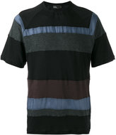 Kolor striped T-shirt - men - Cotton/Nylon/Cupro - 3