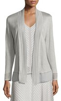 Nic+Zoe Sheer Striped Cardigan, Petite