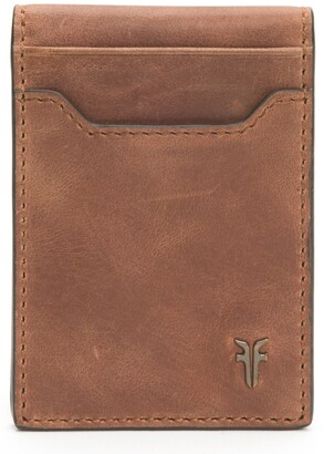 Frye Holden Folded Leather Card Case