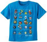 Boys 8-20 Super Mario Bros. Hero Line-Up Tee