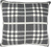 Safavieh Unity Gingham Knit Throw Pillow