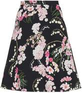 Giambattista Valli lily of the valley printed skirt