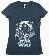 Star Wars Collage Girls Jr Navy