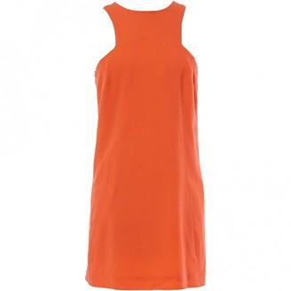 Christopher Kane Orange Wool Dresses