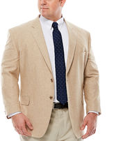 STAFFORD Stafford Linen Cotton Jacket - Big & Tall