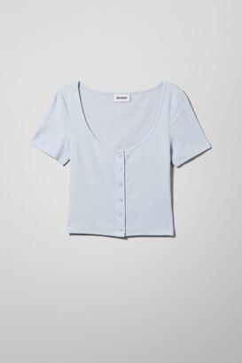 Weekday Bartola T-Shirt - Black