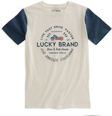 Lucky Brand White Cloud 'Live Fast Drive Faster' Tee - Toddler & Boys