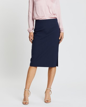 Banana Republic Washable Italian Wool-Blend Pencil Skirt
